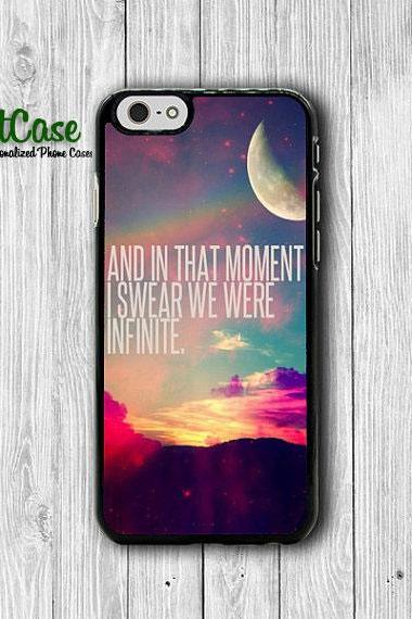 iPhone 6 Case -I Swear We Infinite QUOTE Hipster Nebula Galaxy Phone Cases, Text iPhone 5, 5S, iPhone 4,4S Cover, Personalized Custom Gift#1-47