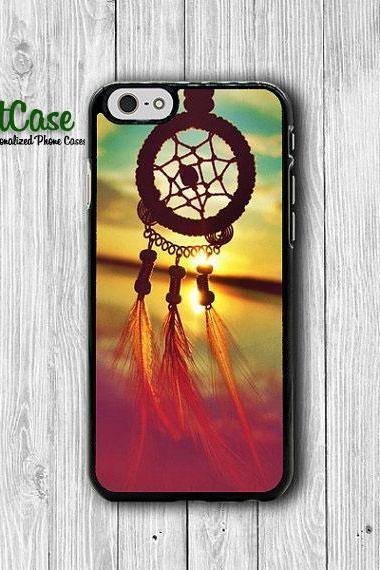 Dreamcatcher Art Sea Vintage iPhone 6 Case, iPhone 6 Plus, iPhone 5S, iPhone 4S Hard Case, Rubber Plastic Accessories Christmas Photo Gift#1-73